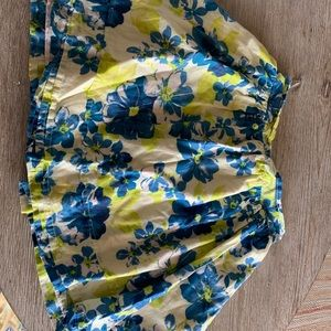Aphorism Lined Floral Skirt Size 10